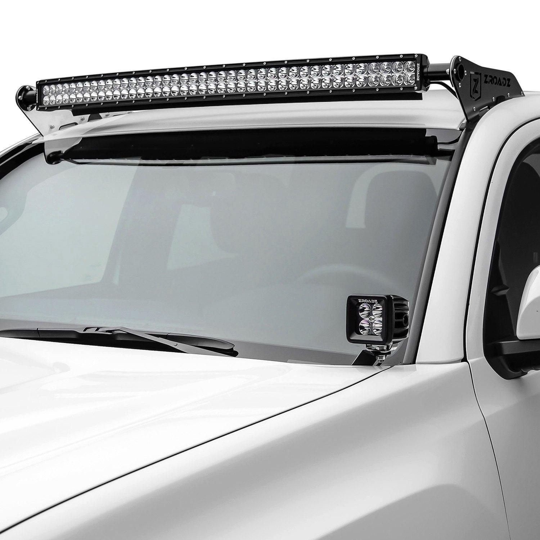 Elive Led Pod Track Lighting: For Toyota Tacoma 16-17 Zroadz Hood Hinge Mounts For Two 3