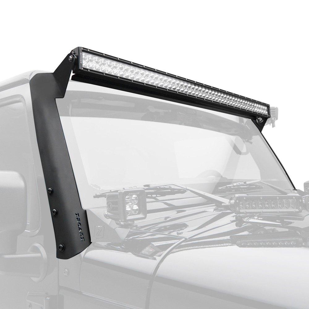 Zroadz® - Jeep Wrangler 2007 Windshield Frame Mounted 52\