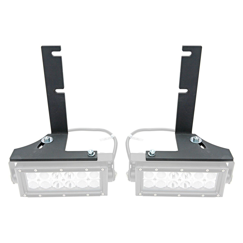 Zroadz chevy silverado 2015 2017 rear bumper mounts for two 6 zroadz rear bumper mounts for two 6 led light barszroadz aloadofball Gallery