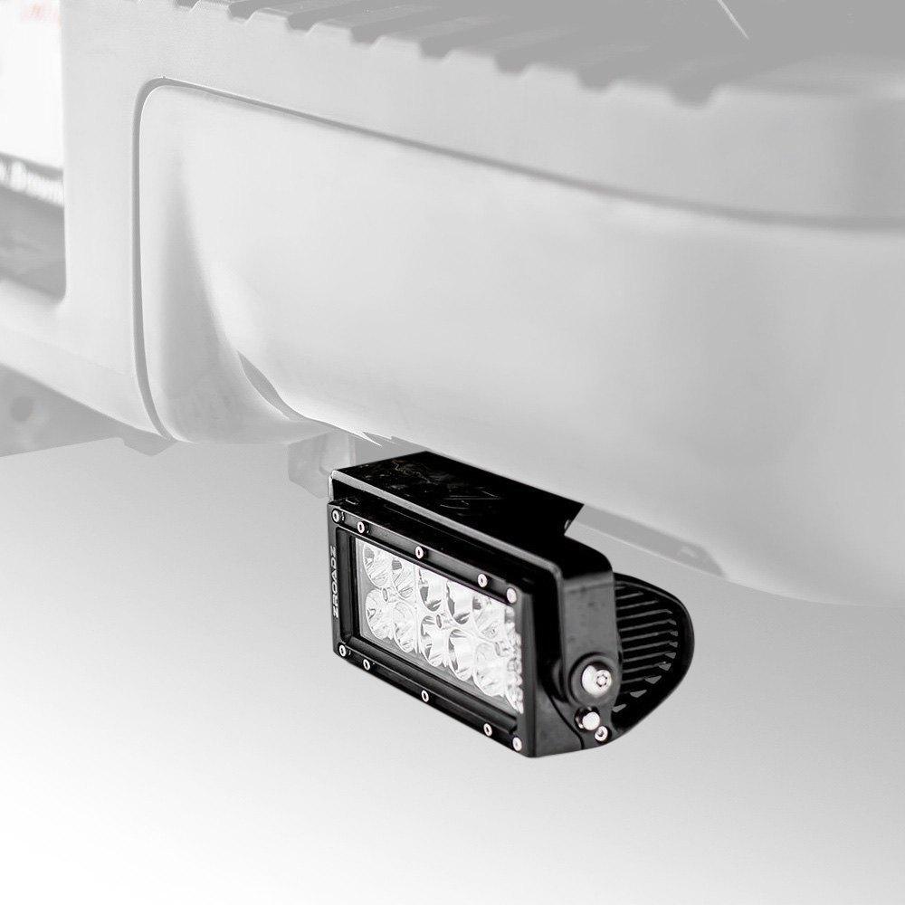 Silverado Led Lights : ... ® - Chevy Silverado 2015-2016 Rear Bumper Mounted LED Light Bars