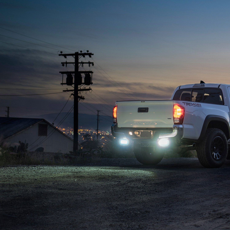 Led Light Bar For Trucks >> Zroadz Rear Bumper Mounted Led Lights