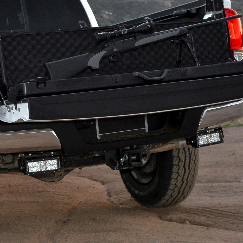 Zroadz z389411 kit rear bumper mounted 6 2x36w dual row combo rear bumper dual row led light bars aloadofball Images