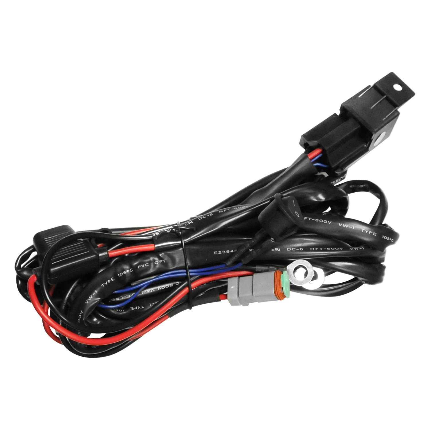 zroadz z390020d a wiring harness for dual leds with 200 w. Black Bedroom Furniture Sets. Home Design Ideas