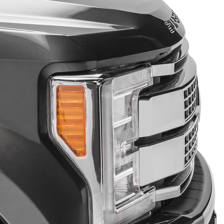 "Slim Led Garage Lights: Grille Mounted OE 10"" 2x75W Slim"