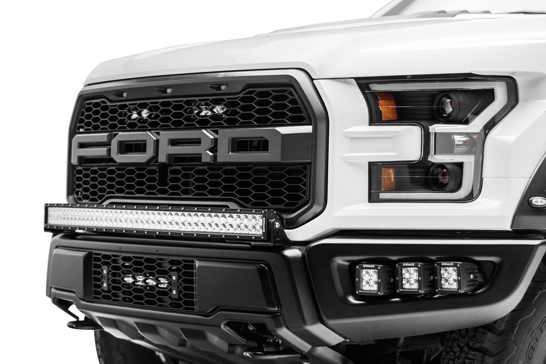 Zroadz® - Ford F-150 Raptor 2017 Grille Mounted OE Slim ...