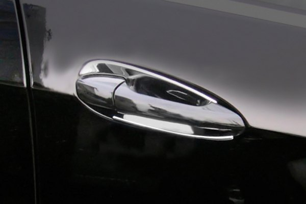 Gl mercedes chrome door handle inserts for Mercedes benz gl450 chrome accessories